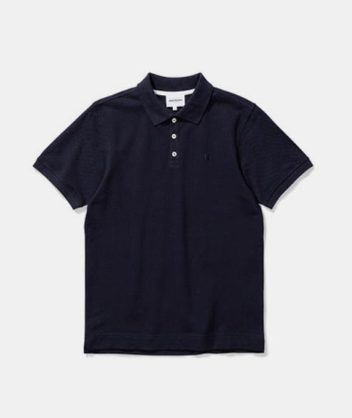 Norse Projects - Thies Pique - Dark Navy