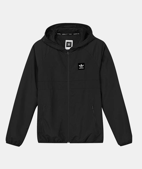 Adidas originals - BB Wind Jacket - Black Black
