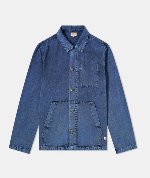 Armor Lux - Fisherman Jacket - Blue Wash