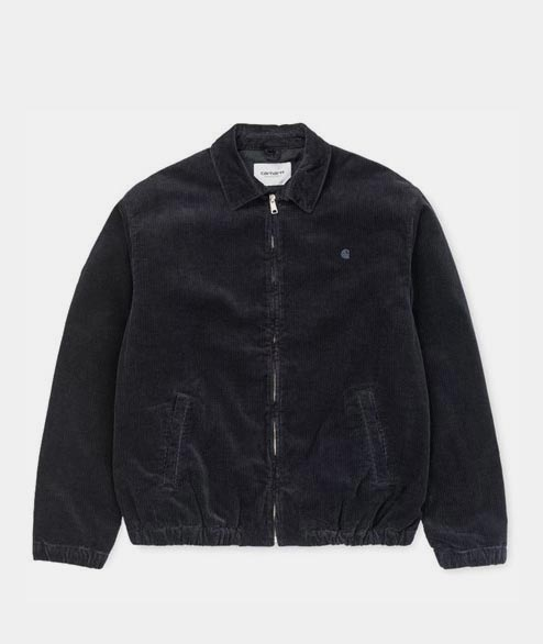 Carhartt WIP - Madison Jacket - Black Rinsed