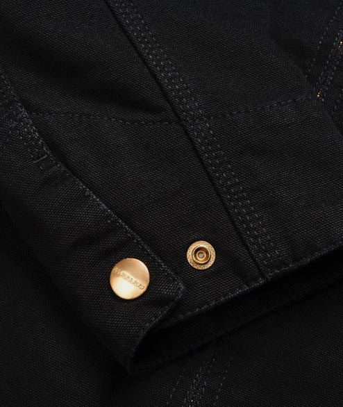 Carhartt WIP - Detroit Jacket - Black Rinsed