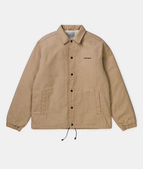 Carhartt WIP - Canvas Coach Jacket - Dusty Heather Brown