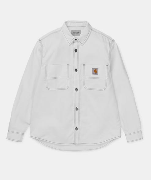 Carhartt WIP - Chalk Shirt Jac - White Rigid