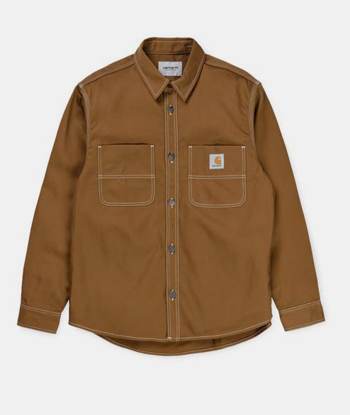 Carhartt WIP - Chalk Shirt Jac - Hamilton Brown