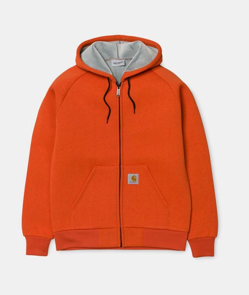 Carhartt WIP - Car Lux Hooded Jacket - Persimon