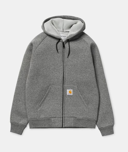 Carhartt WIP - Car Lux Hooded Jacket - Dark Grey Heather