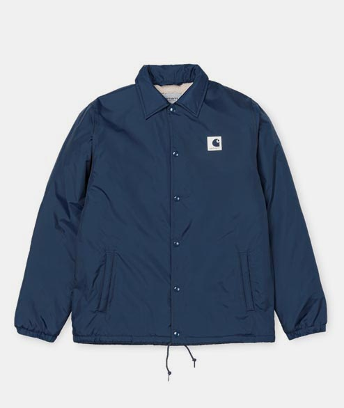 Carhartt WIP - Sports Pile Coach Jacket - Steel Navy