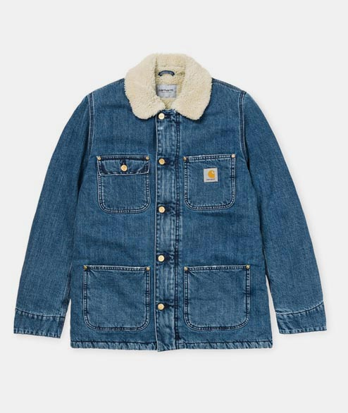 Carhartt WIP - Phoenix Coat - Blue Stone Washed