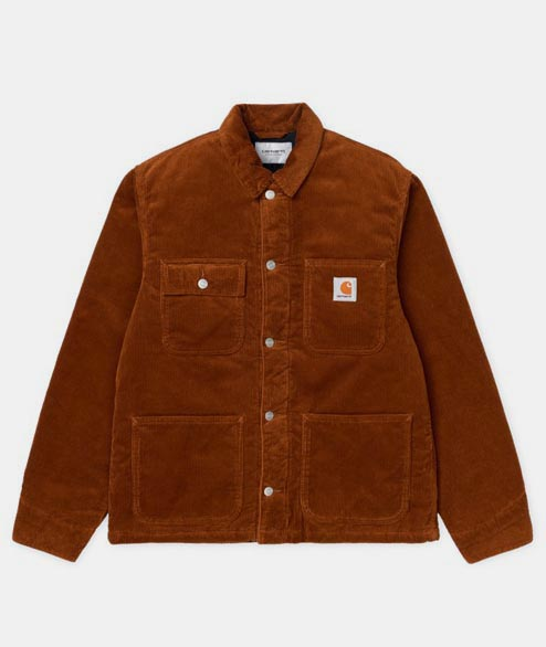 Carhartt WIP - Michigan Coat - Brandy Corduroy