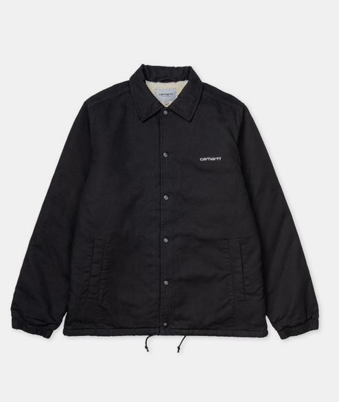 Carhartt WIP - Canvas Coach Jacket - Black