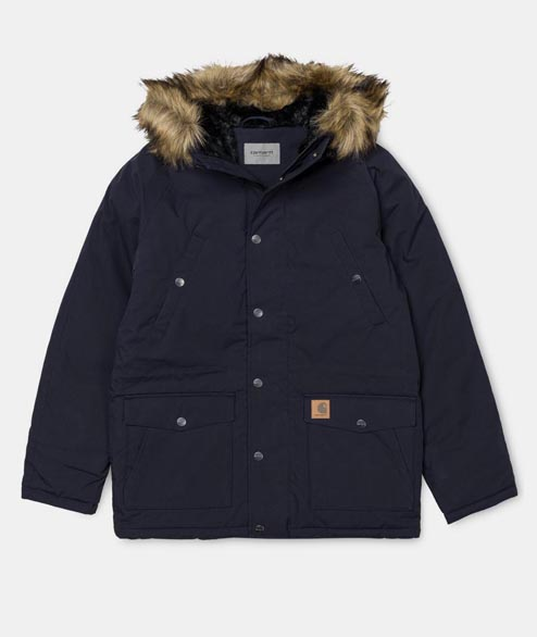 Carhartt WIP - Trapper Parka - Dark Navy Black