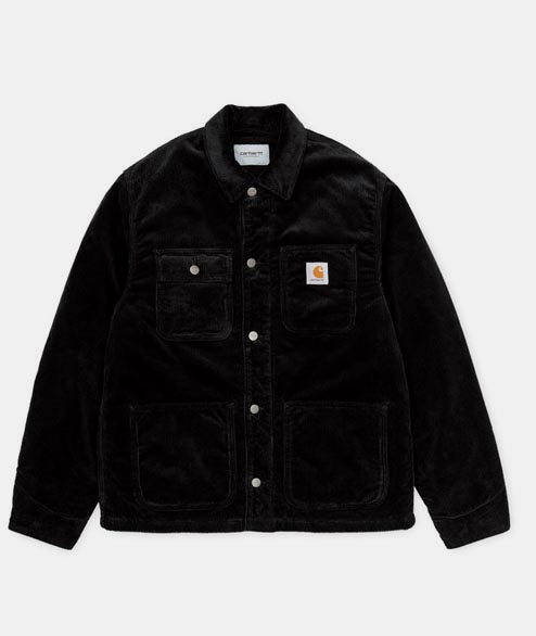 Carhartt WIP - Michigan Coat - Black Corduroy