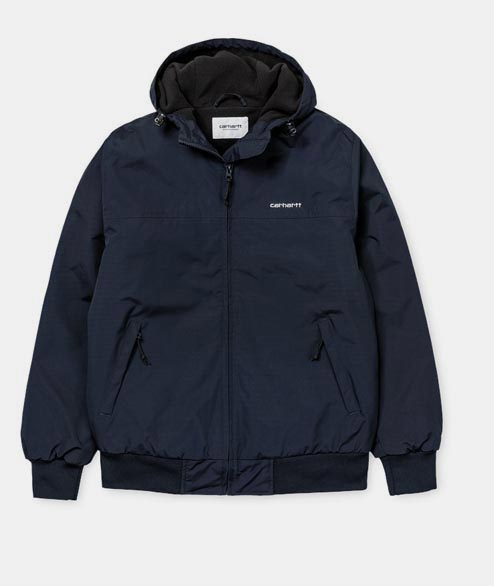 Carhartt WIP - Hooded Sail Jacket - Dark Navy