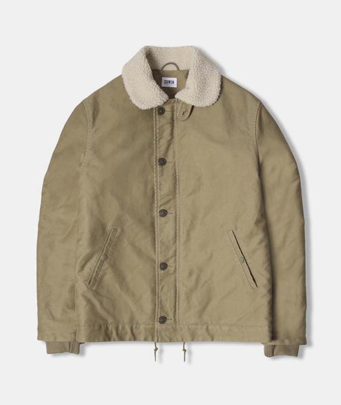 Edwin - ED Sheffield Jacket Bedford - Khaki