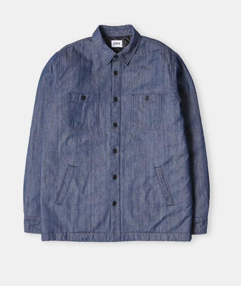 Edwin - Labour 4 Pockets Shirt - Cotton Blue