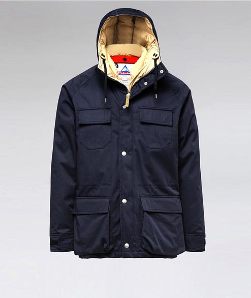 Holubar - Deer Hunter Parka - Dark Blue