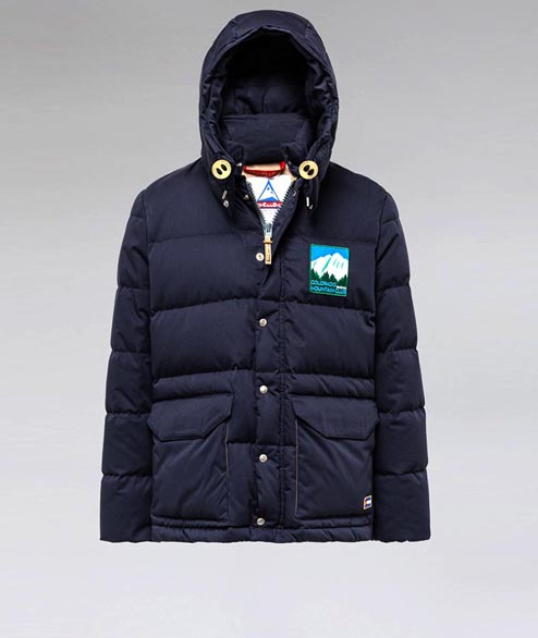 Holubar - Colorado Down Jacket - Dark Blue