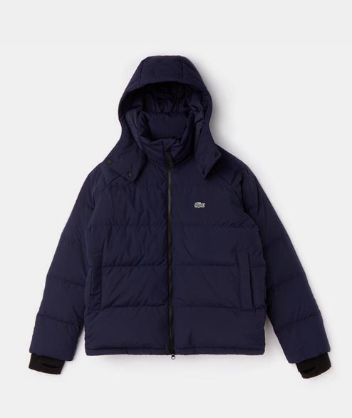 Lacoste Live - Short Down Jacket - Marine