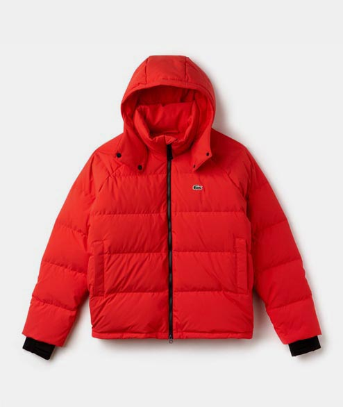 Lacoste Live - Short Down Jacket - Flash Red