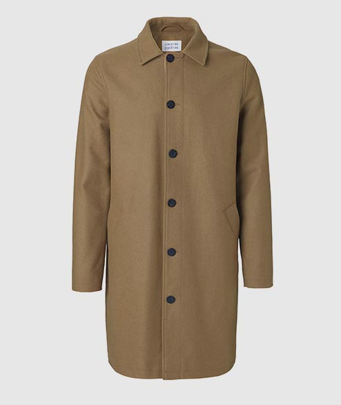 Libertine Libertine - Affect Wool Coat - Camel