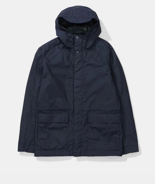 Norse Projects - Nunk Waxed Cotton - Dark Navy