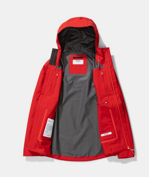 Norse Projects - Fyn Shell Gore Tex - Askja Red