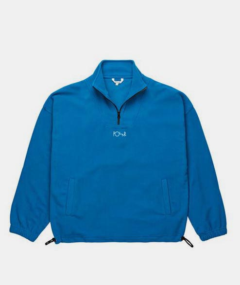 Polar Skate Co. - Lightweight Zip Pullover - Myknos Blue