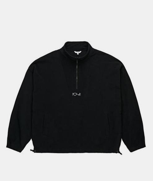 Polar Skate Co. - Lightweight Fleece Pullover 2.0 - Black
