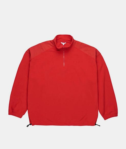 Polar Skate Co. - Lighweight Fleece Pullover - Red