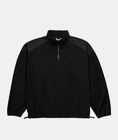 Polar Skate Co. - Lightweight Fleece Pullover - Black