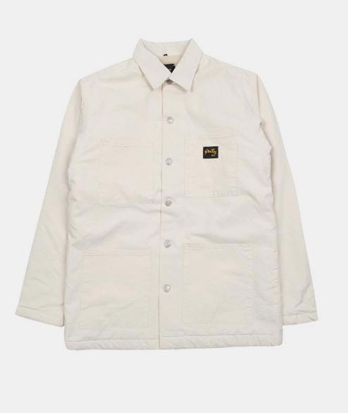 Stan Ray - Lined Shop Jacket - Natural Drill