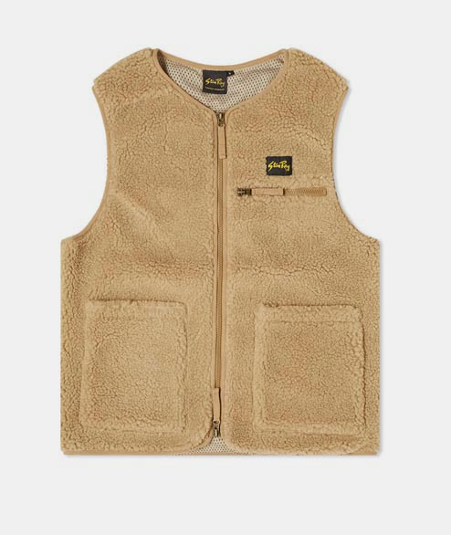 Stan Ray - Fleece Liner Vest - Khaki