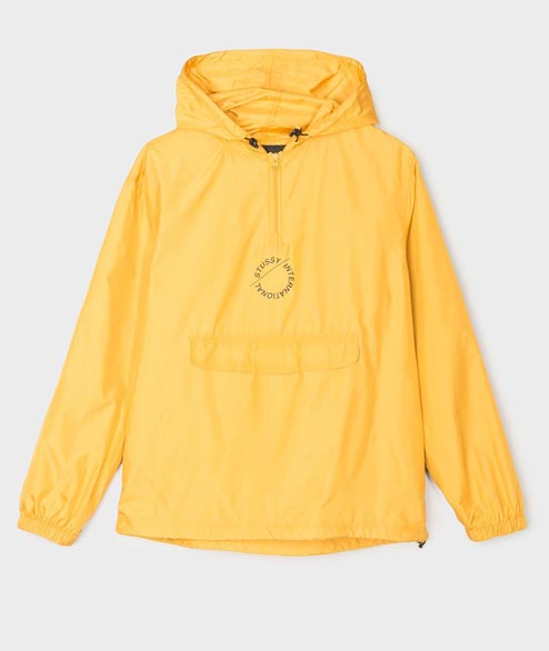 Stussy - Nylon Pop Over Jacket - Gold