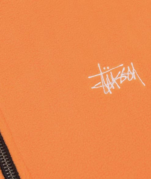 Stussy - Basic Polar Fleece Moc - Orange