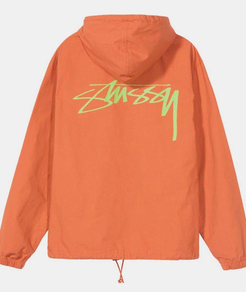 Stussy - Ripstop Pullover - Rust