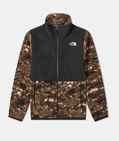 The North Face - Denalli 2 Fleece Jacket - Camo Black