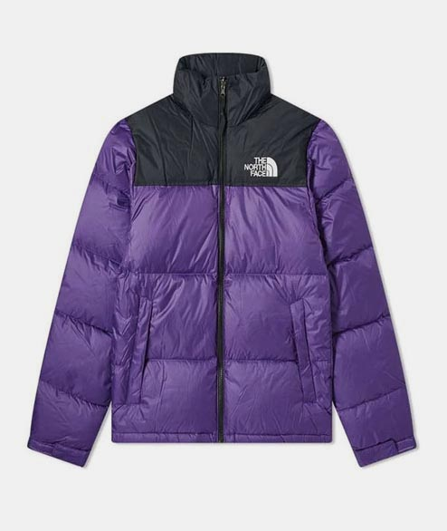 The North Face - 1996 Retro Nuptse Jacket - Peak Purple Black
