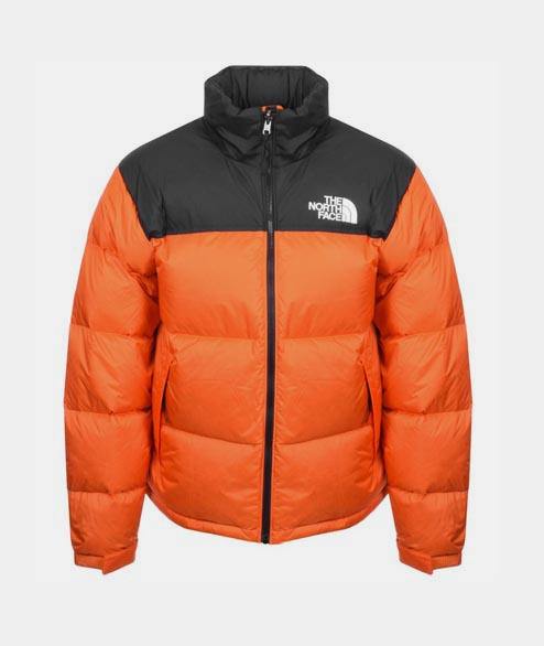 The North Face - 1996 Nuptse Jacket - Persian Orange