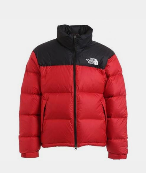 The North Face - 1996 Nuptse Jacket - TNF Red Black