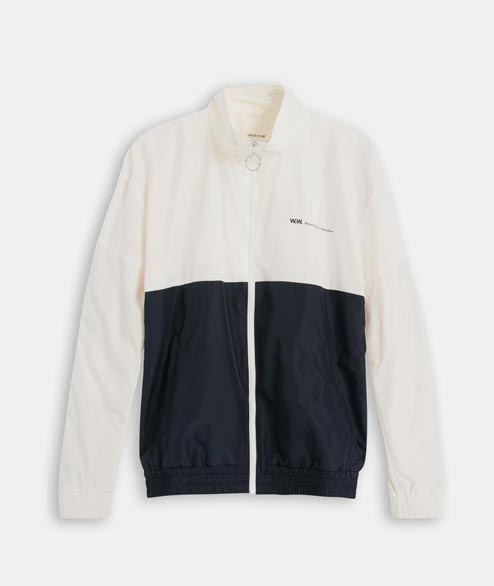 Wood Wood - Homer Jacket - Off White Navy