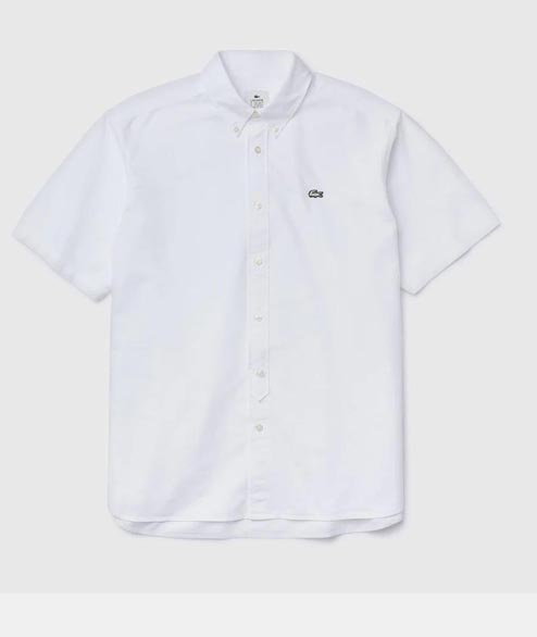 Lacoste Live - Classic SS Shirt - White