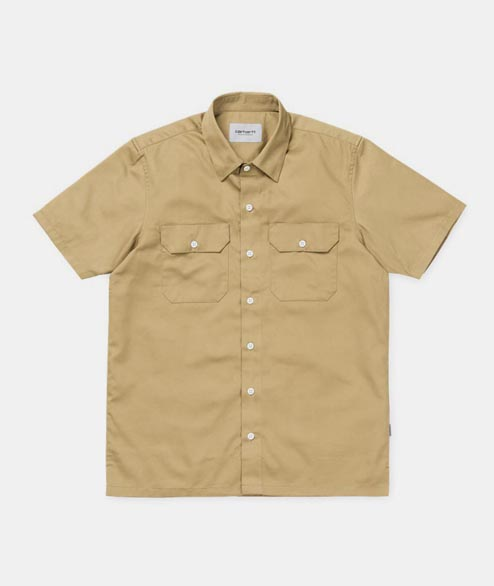 Carhartt WIP - Master Shirt - Leather Rinsed