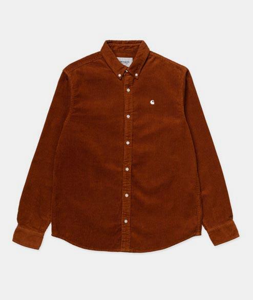 Carhartt WIP - Madison Cord Shirt - Brandy Wax