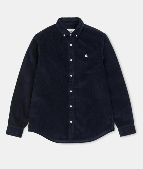 Carhartt WIP - L/S Madison Cord Shirt - Dark Navy