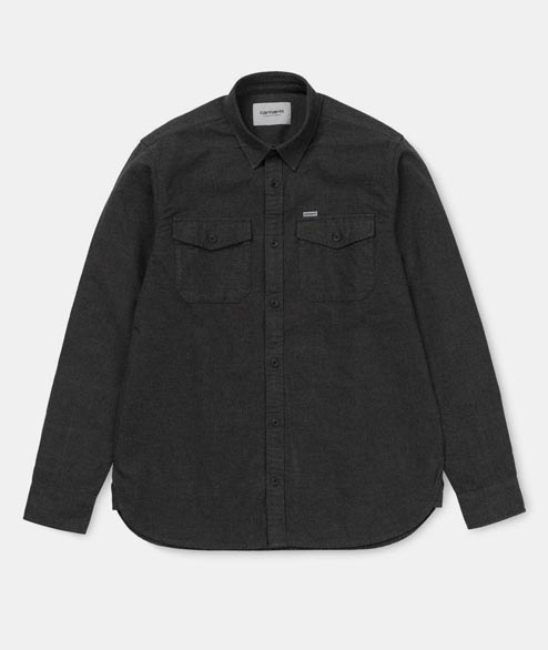 Carhartt WIP - Vendor Shirt - Black Heather