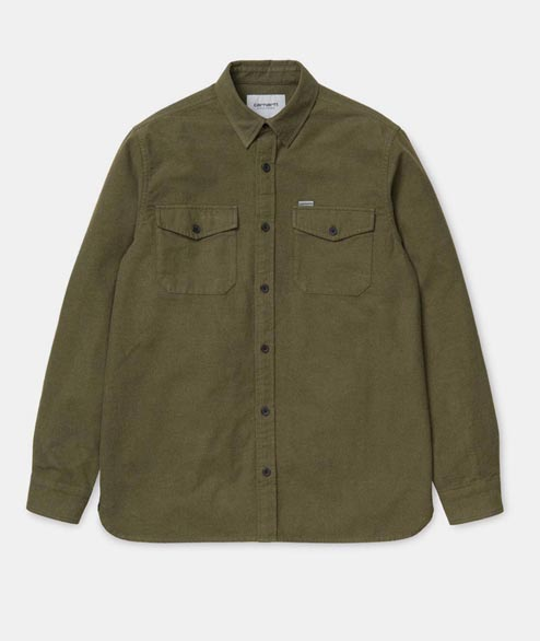 Carhartt WIP - Vendor Shirt - Cypress Heather