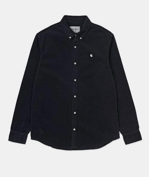 Carhartt WIP - Madison Cord Shirt - Dark Navy White