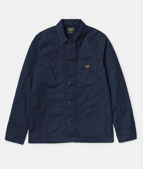 Carhartt WIP - Michigan Shirt - Dark Navy Rinsed