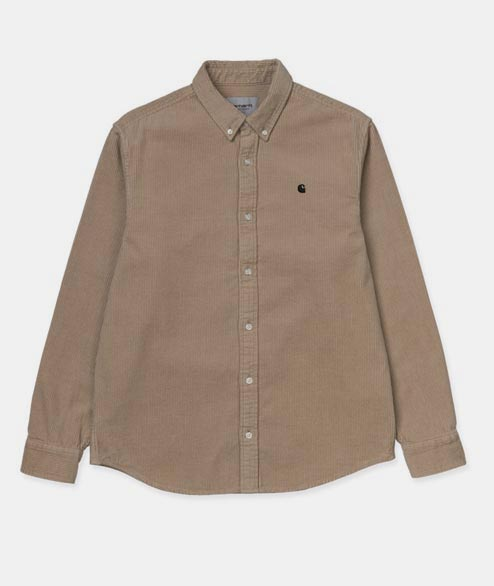 Carhartt WIP - Madison Cord Shirt - Leather