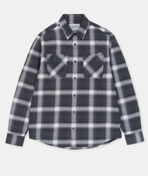Carhartt WIP - Rigg Shirt LS - Blacksmith
